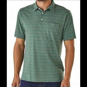 Patagonia Men's Organic Cotton Polo Shirt size XL